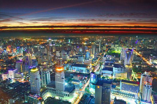 Заставки Бангкок, столица и самый крупный город Таиланда, Таиланд