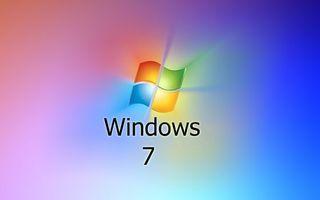 Заставки виндовс 7, операционная система, значок