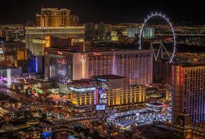 Photo free night, city, Las Vegas