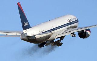 Бесплатные фото самолет,пассажирский,крылья,турбины,хвост,шасси,дым