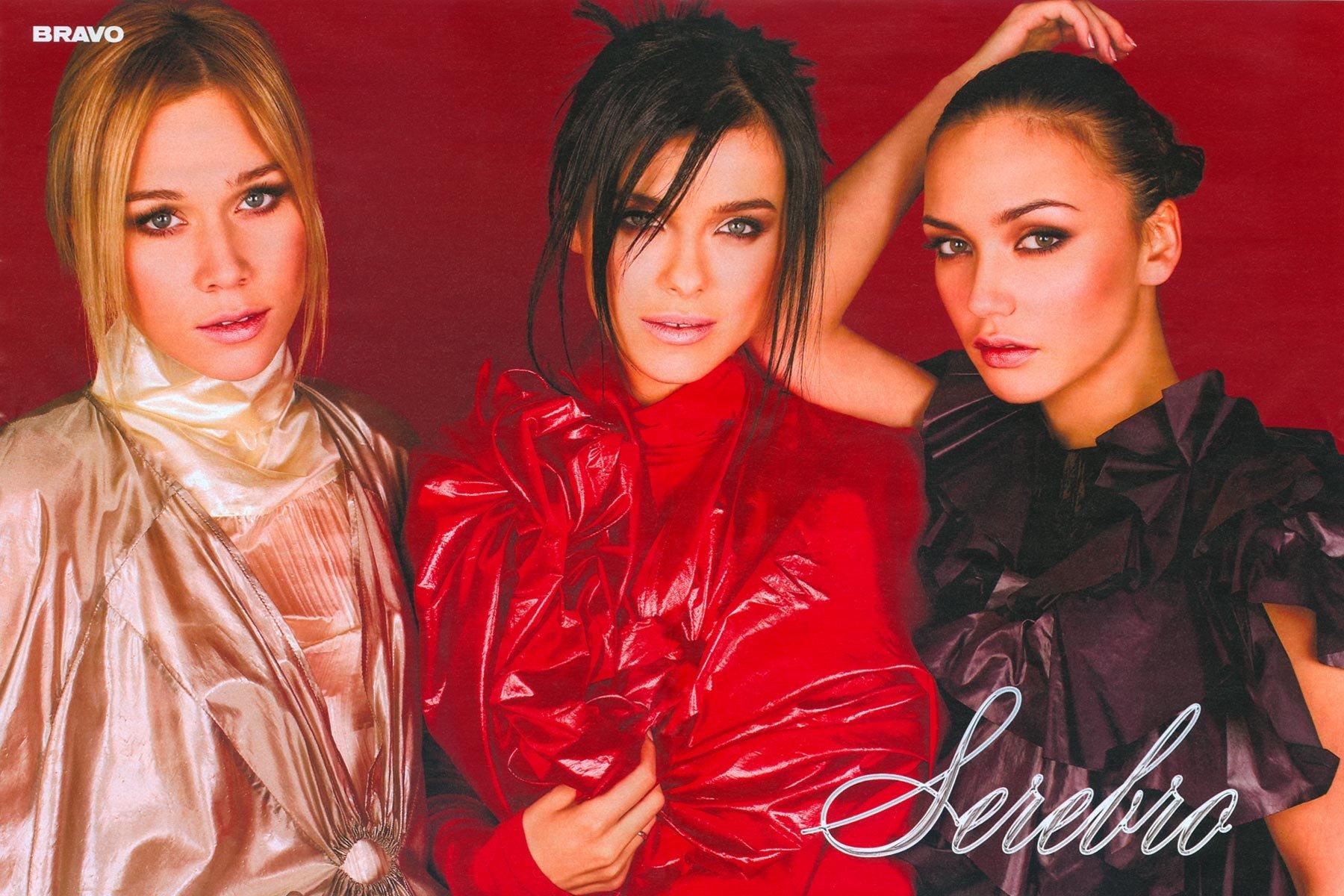Обои Участницы группы SEREBRO, девушки, красотки, певицы