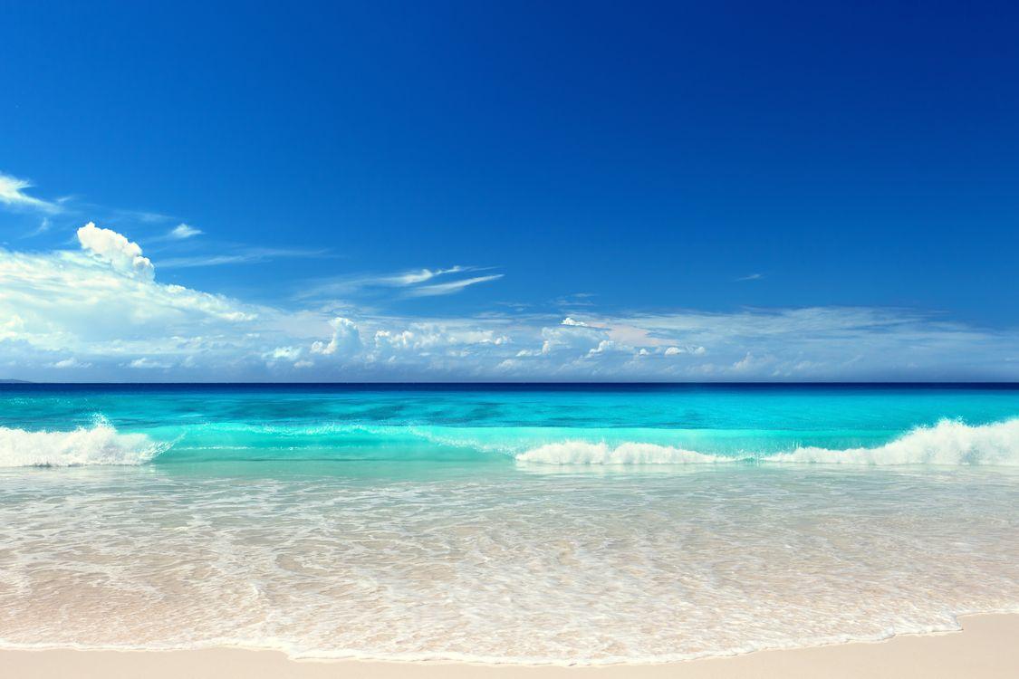 Фото бесплатно волны, пляж, море, пейзажи