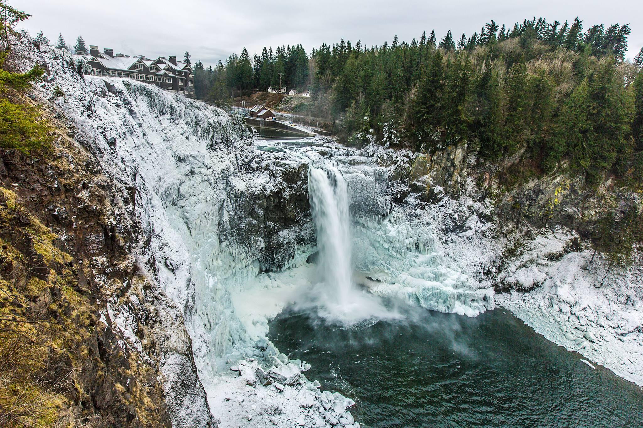 Водопад Сноквалми, Snoqualmie Falls, США