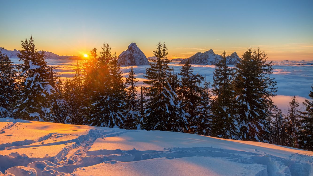 Закаты и Восходы солнца картинки  Закат фото восход
