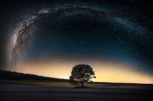 Заставки ночь, небо, звёзды