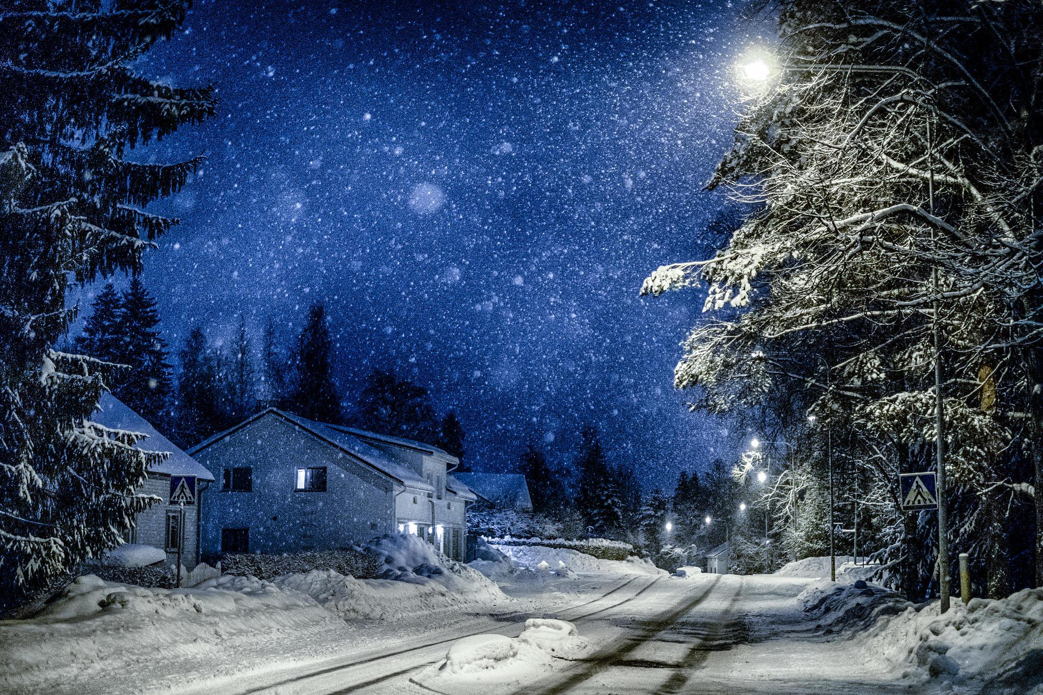 четверть красивые фото ночной зимы помещений штукатуркой