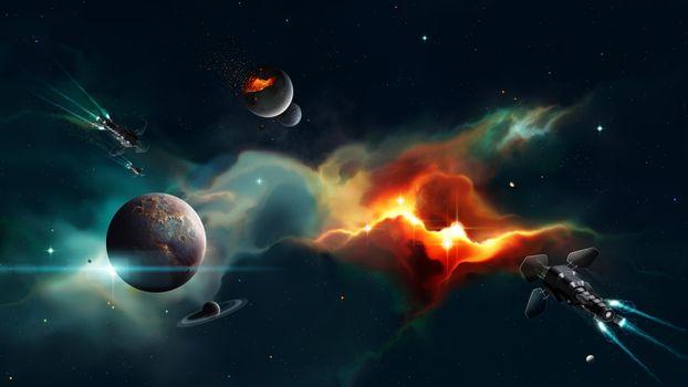 Красивые обои планеты, космос