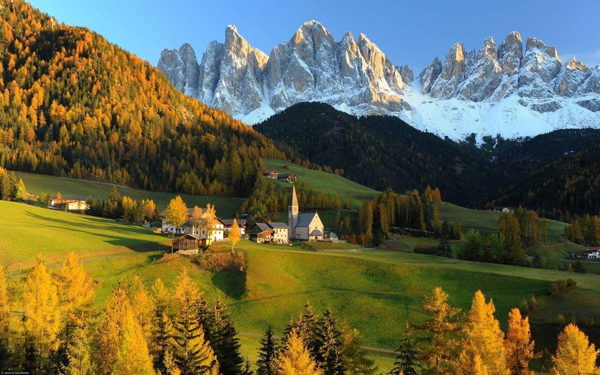 Фото бесплатно камни, дома, горы - на рабочий стол