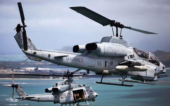 Фото бесплатно вертолеты, военые, кабины