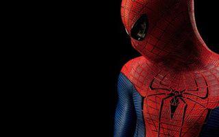Заставки человек паук, супергерой, костюм, фон черный, заставка