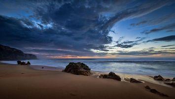 Бесплатные фото пляж,Bicas,Португалия,море,закат,пейзаж