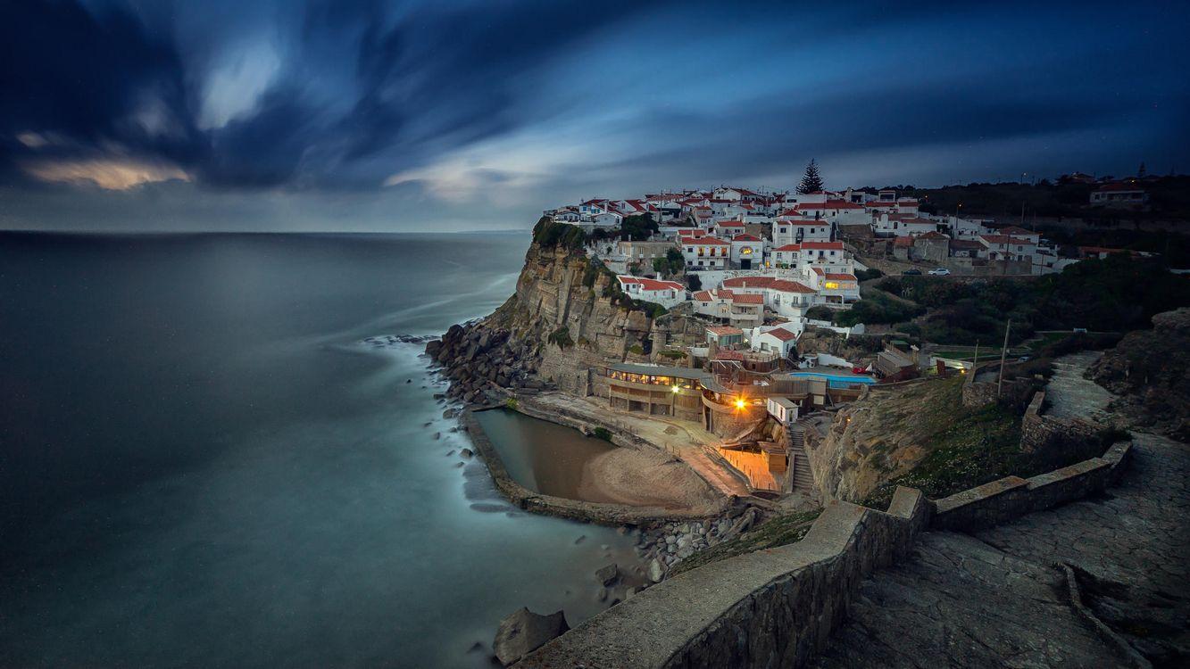 Фото бесплатно Азеньяш-ду-Мар, Португалия, Azenhas do Mar - на рабочий стол