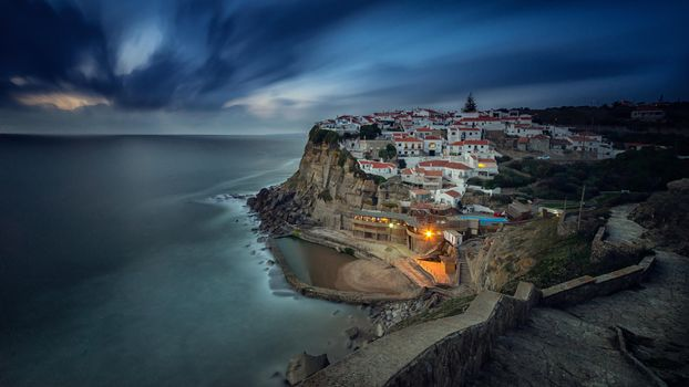 Download the screensaver of portugal, azenhas do mar to your phone for free