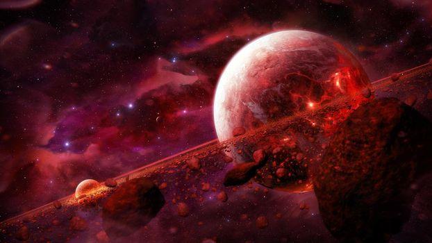 Фото космос, вселенная - обои на стол