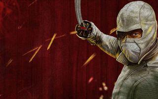 Бесплатные фото ниндзя,воин,боец,меч,костюм,искры