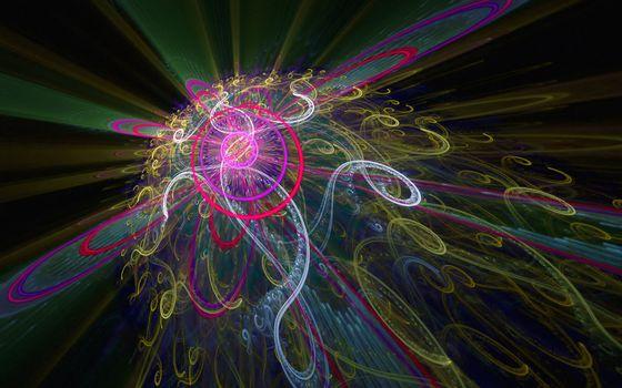 Фото бесплатно лучи, полосы, цвет