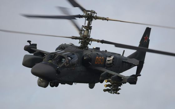 Photo free helicopter, ka-52 alligator, screws