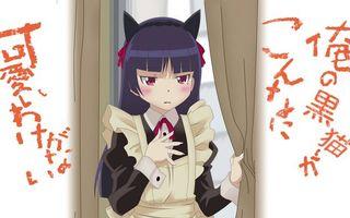 Фото бесплатно злая девочка, ободок, ушки