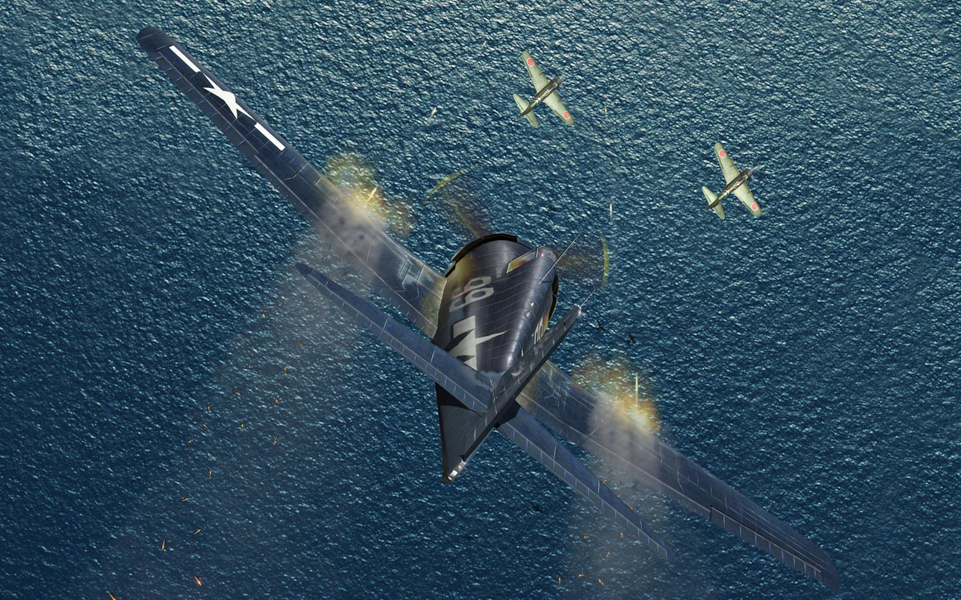 самолеты военные, полет, бой