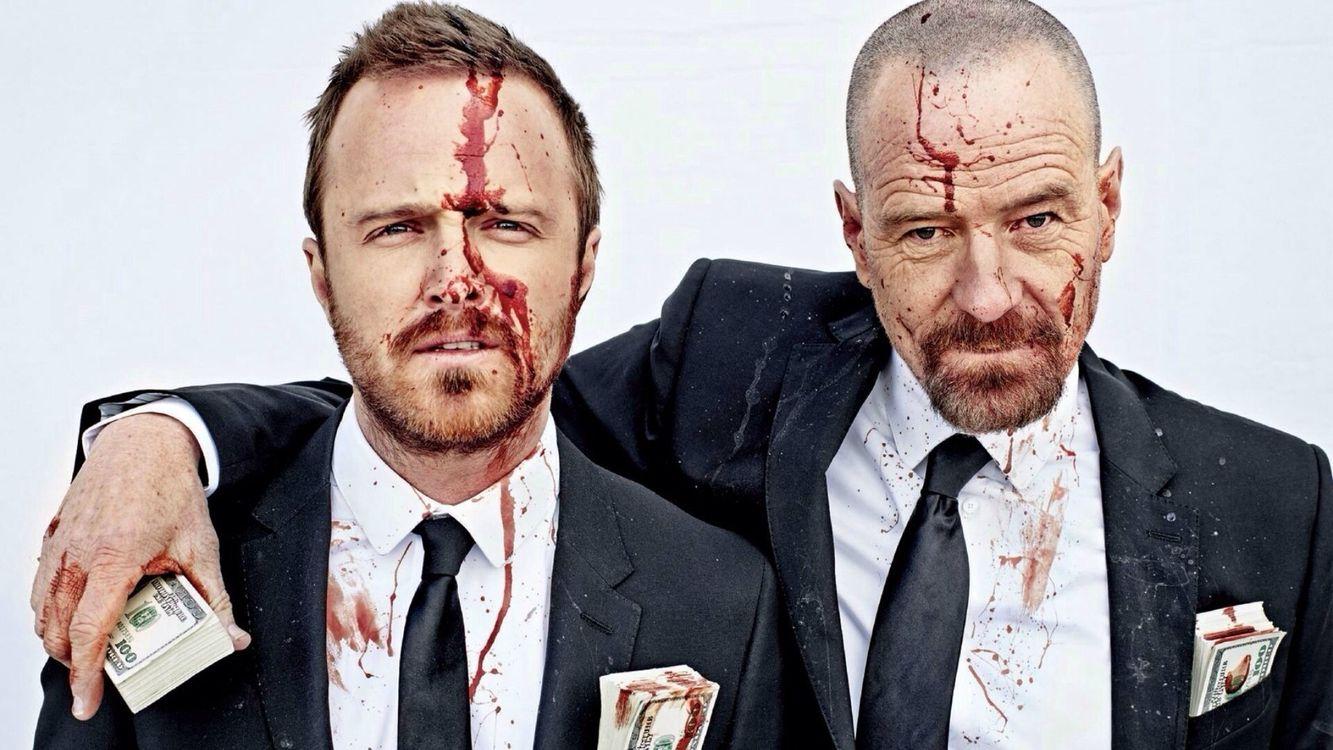 Фото бесплатно мужчины, костюмы, лицо, кровь, деньги, пачки, фильмы - скачать на рабочий стол