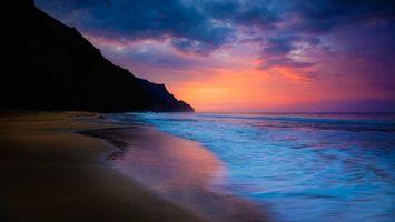 Фото бесплатно берег, песок, гора