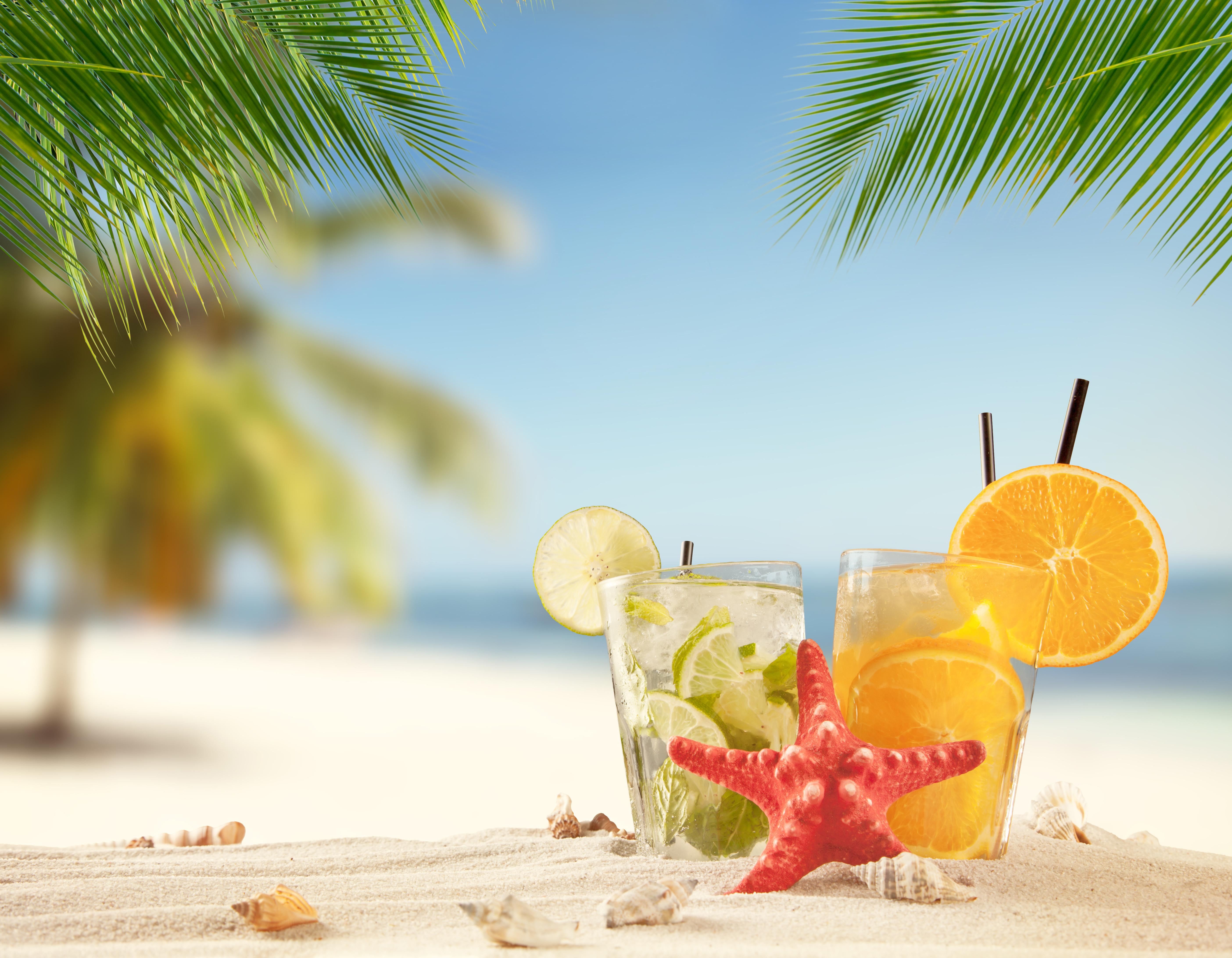 обои коктейль, напиток, мохито, апельсин картинки фото