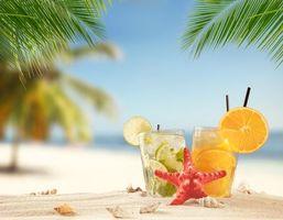 Бесплатные фото коктейль,напиток,мохито,апельсин