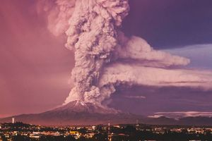 Photo free Volcano Calbuco, Chile, Puerto Montt