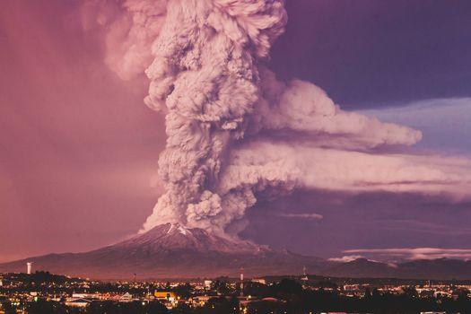 Фото бесплатно Вулкан Кальбуко, Чили, Пуэрто-Монт