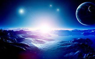 Бесплатные фото звезды,планеты,небо,горы