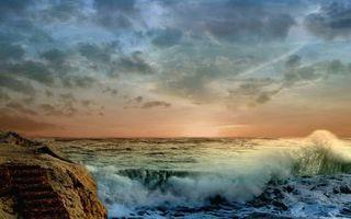 Фото бесплатно берег, камень, валун