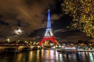Фото бесплатно Eiffel Tower, Paris, France