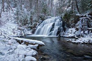 Фото бесплатно robertson creek falls, vankoughnet township, ontario