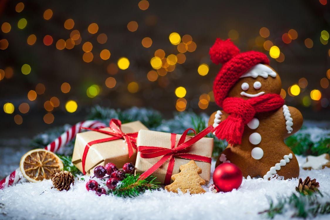 Фото бесплатно Рождество, фон, дизайн, элементы, новогодний стол, чай с лимоном, новогодние обои, новый год, новогодний натюрморт, напитки
