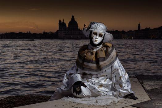 Фото бесплатно Венецианский карнавал, венецианский костюм, праздник