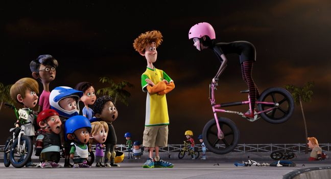 Photo free cartoon, Monsters on vacation 2, comedy