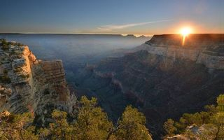 Бесплатные фото каньон,ущелье,закат