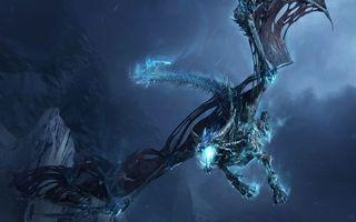 Бесплатные фото дракон,полет,крылья,хвост,лапы,пасть,огонь