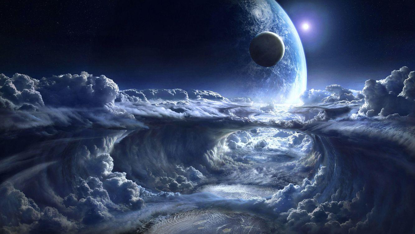 Фото бесплатно космос, планета, Необъятные просторы космоса, космос