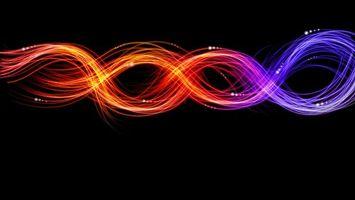 Фото бесплатно Линии, цветовая гамма, абстракция