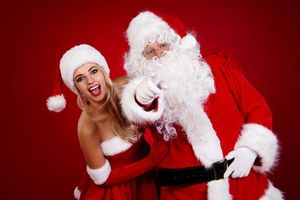 Santa Claus in the new year · free photo
