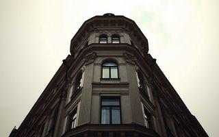 Бесплатные фото здание, окна, дизайн, лепнина, небо