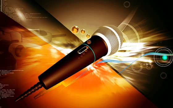 3d microphone · free photo