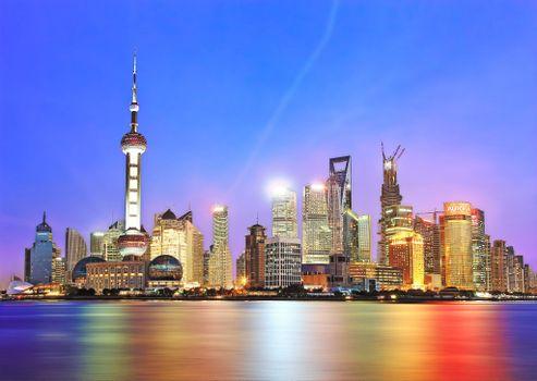 Фото самые красивые китай, шанхай