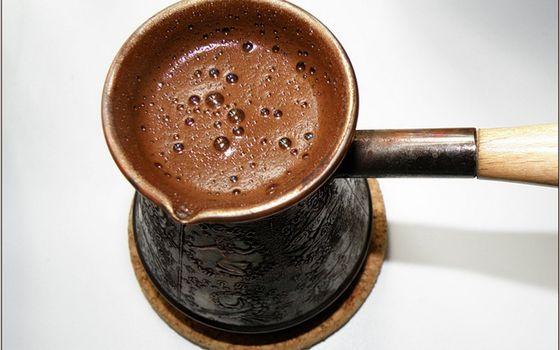 Бесплатные фото кофе,пена,турка,медь,чеканка,ручка