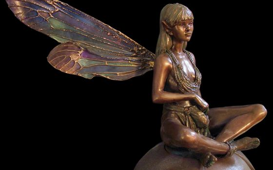 Фото бесплатно статуэтка, металл, бронза