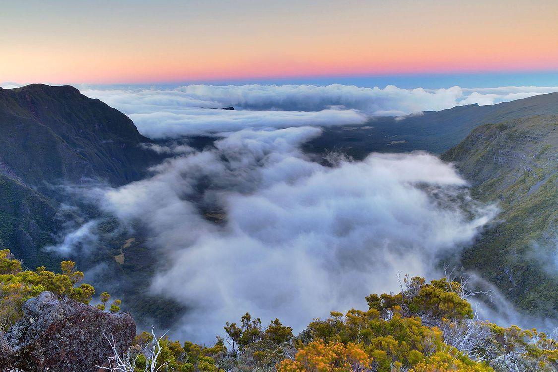 Обои закат, горы, скалы, облака, пейзаж на телефон   картинки пейзажи