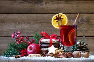 Фото бесплатно дизайн, чай с лимоном, фон