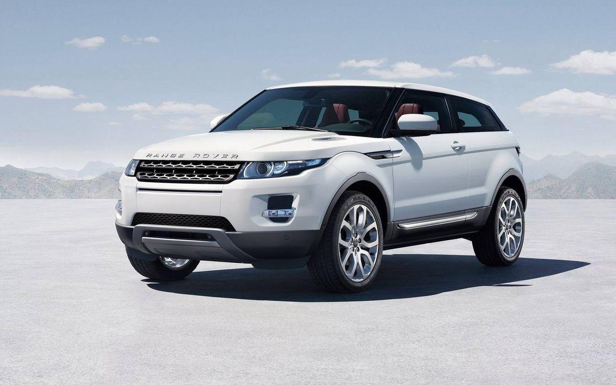 Фото бесплатно Land Rover, рендж ровер, белый - на рабочий стол