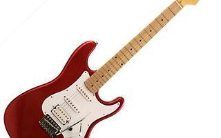 Заставки электрогитара, красная, струны